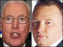 Ian Paisley was interviewed by the BBC's Stephen Nolan
