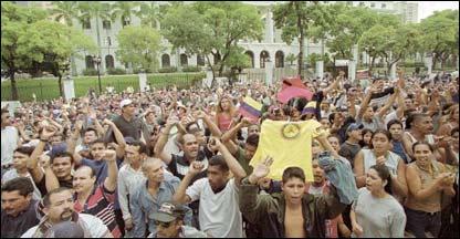 Manifestaci�n oficialista  (Foto: El Nacional)