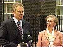 Tony Blair and Margaret Beckett