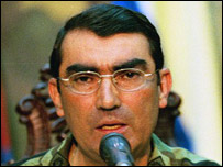 General Lucas Rincón (Foto: El Nacional)