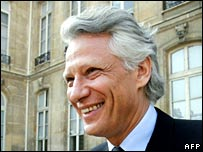 Dominique de Villepin. Image: AFP/Getty