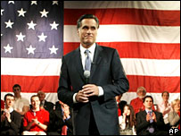 Mitt Romney speaks at a fundraising event