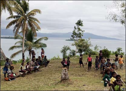 Munda island