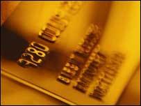 Credit card, BBC/Corbis