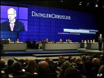 DaimlerChrysler's annual general meeting in Berlin