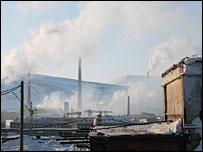 Norilsk factory