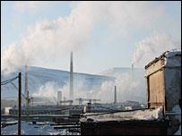 Завод в Норильске