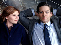 Kirsten Dunst and Tobey Maguire in Spider-Man 3