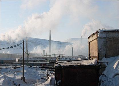 Norilsk smoke