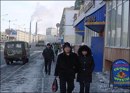 Norilsk streets