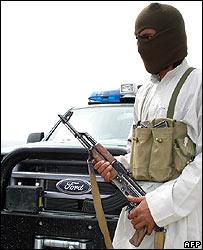 Militant in South Waziristan