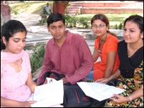 Varanasi students