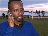 Film-maker Gilbert Ndahayo