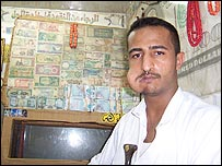 A man chewing khat