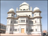 The new Sikh temple