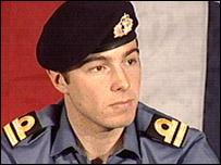 Royal Marine Captain Chris Air