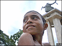 East Timorese boy