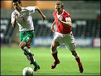 Wales' Craig Bellamy in action against Bulgaria last August