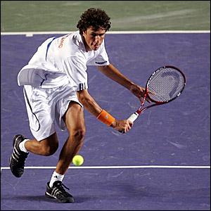 Sensatie op Tennistoernooi Rotterdam
