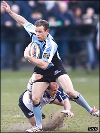 Hefin O'Hare scored a try for Glasgow