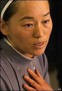 La madre superiora Margie Cheong