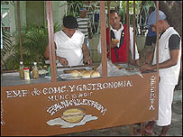 Vendedores (Foto: Raquel Pérez)