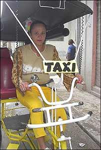 Chofer de bicitaxis (Foto: Raquel Pérez)