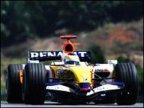 Giancarlo Fisichella during Malaysia qualifying