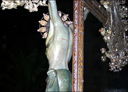 """V�acrucis "" en Buenos Aires, Argentina"