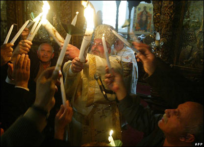 Orthodox celebrations in Bethlehem