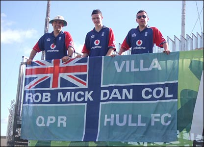 Colin, Mick and Dan Jennings and Rob Dale
