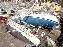 Grenada hurricane devastation