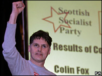 Colin Fox, of the Scottish Socialist Party