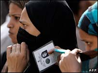 Muslim women voters in Uttar Pradesh