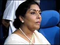 Women and Child Development minister Renuka Chowdhury