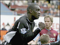 Emile Heskey put Wigan ahead