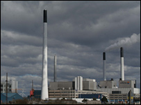 Amager power station in Denmark