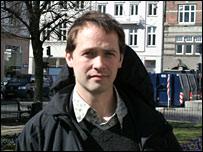 Dan Belusa of Greenpeace