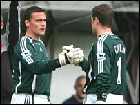 Steve Harper replaces Shay Given