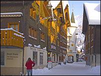 View of Andermatt (pic: Andermatt tourist office website)