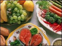 Frutas, verduras y carne de pescado según aconsejan los nutricionistas