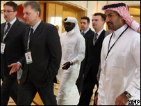 Russian Minister of Industry & Energy Victor Khristenko in Doha
