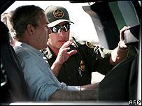 President Bush at Arizona border