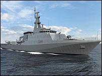 Offshore patrol vessel / cVT