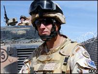 Australian soldier in Afghanistan