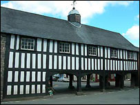 Llanidloes' Old Market Hall