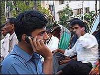 Man in Dhaka phones relatives abroad