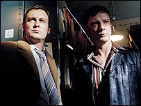Philip Glenister (left) and John Simm in Life on Mars