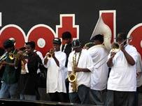 Джазмены в Новом Орлеане