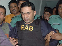 Tarique Rahman, the son of Khaleda Zia is in custody